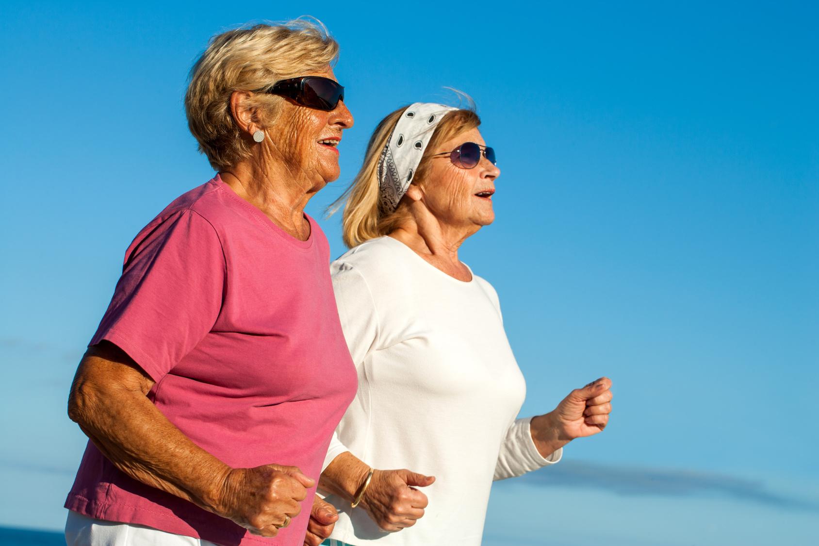 jogging seniora
