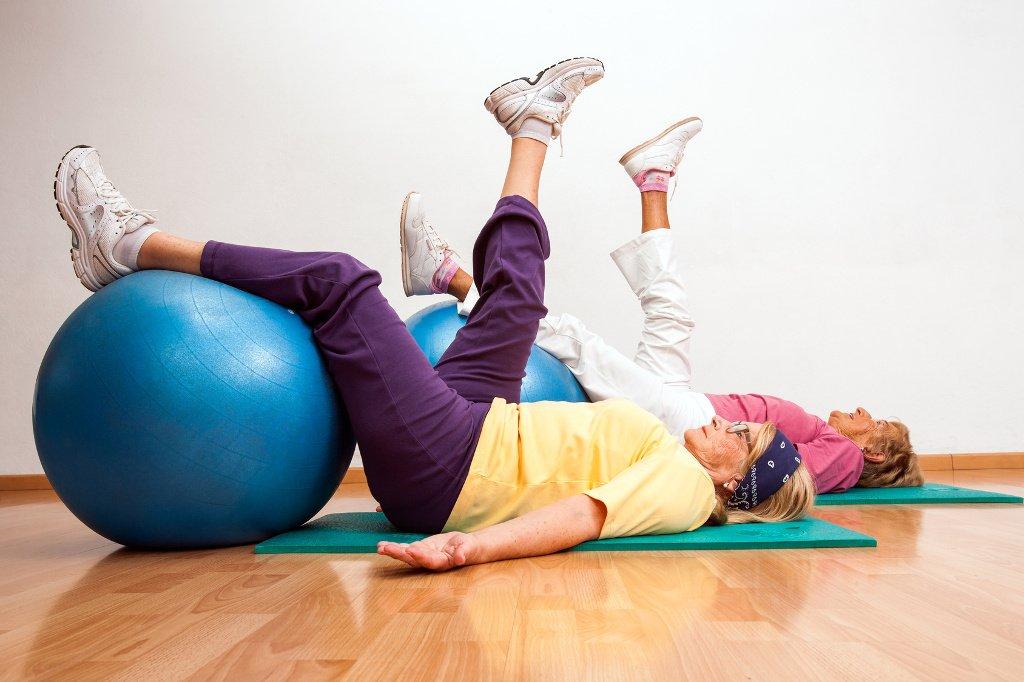 Ćwiczenia dla senirów, fizjoterapia dla seniorów